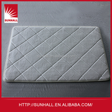 High Quality Factory Price non skid microfiber polyester bath mat