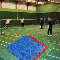 Competitive Price Hot Sale Promotion flooring badminton court