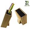 Modern design Bamboo Wood Kitchen Knife Block Stand Holder for sale