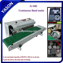 Continuous Film Sealing machine/Plastic film heat sealer FR-900