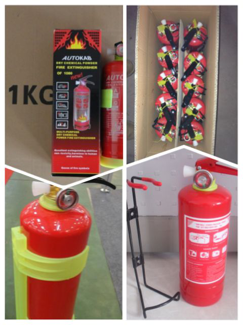 1 kg abc dry chemical powder fire extinguisher for car