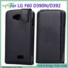 Wholesale Cheap Price Flip Top Leather Case Cover for LG F60