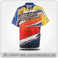 Heat transfer dye-sub printing Motorcross Racing Suits Sports Jersey