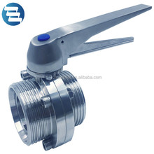 Duck Bill Handle Stainlees Steel Butterfly Valve DN50