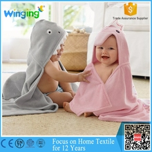 customize bamboo hooded towel for baby,best seller bamboo animal hoodie towel