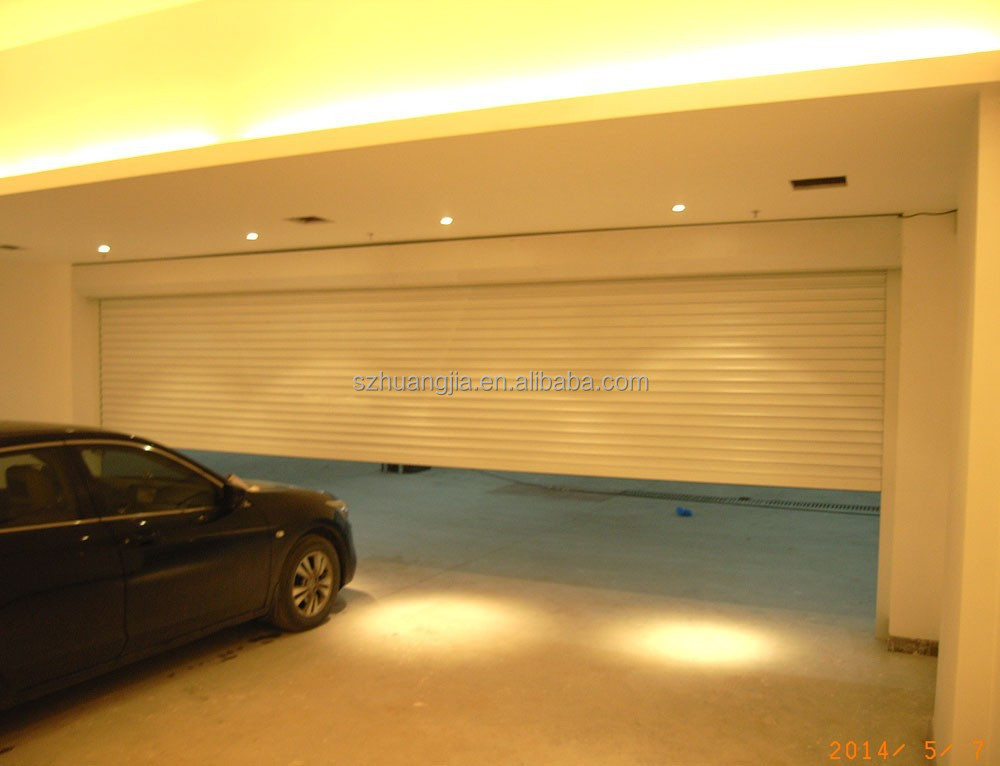 High quality Modern Aluminum Automatic rolling jalousie garage doors