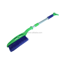 New style home car windscreen aluminum PP scraper telescopic cleaning electric auto snow brush