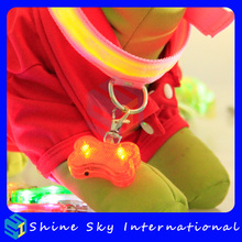 Dog products led chandelier pendant, flashing led dog collar pendant light, pet products flashing led dog collar wholesale