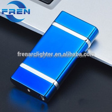 Free samples!Usb double-arc electric lighters, non-flame windproof lighter usb charging fr-905