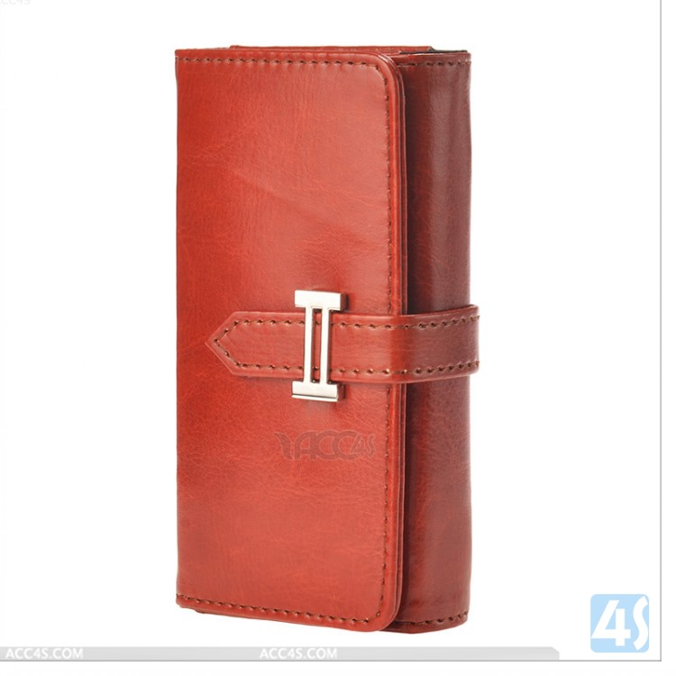 5.7 inch mobile phone Universal Leather Case P-UNI57CASE001