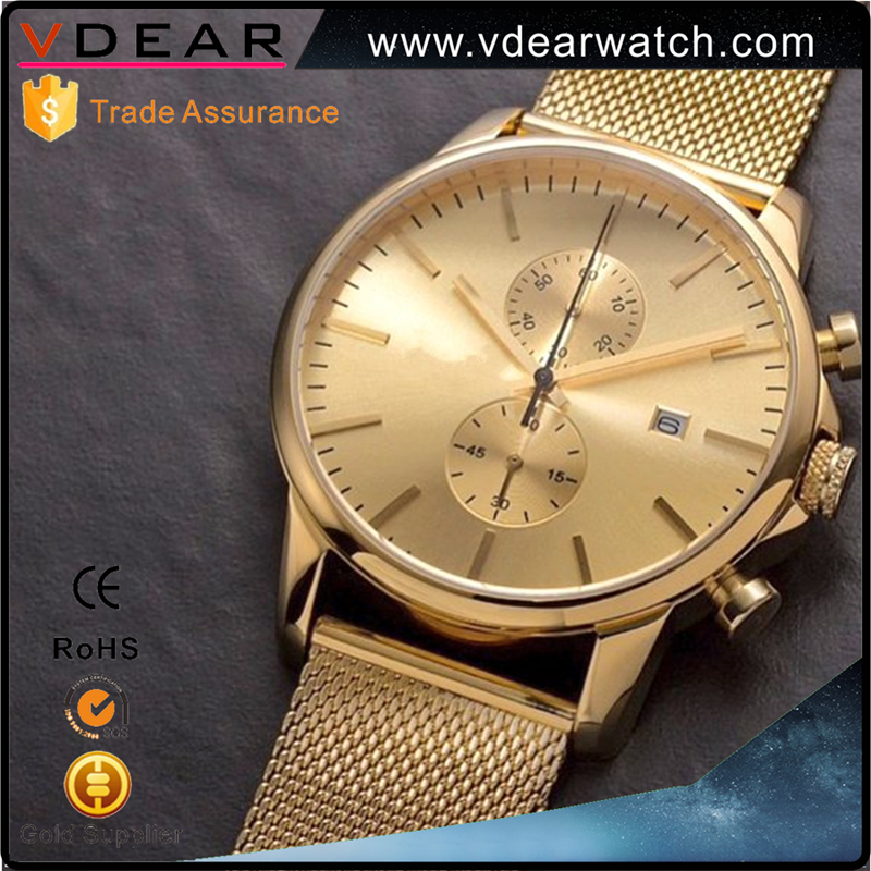 New design high quality mens watches watch casing