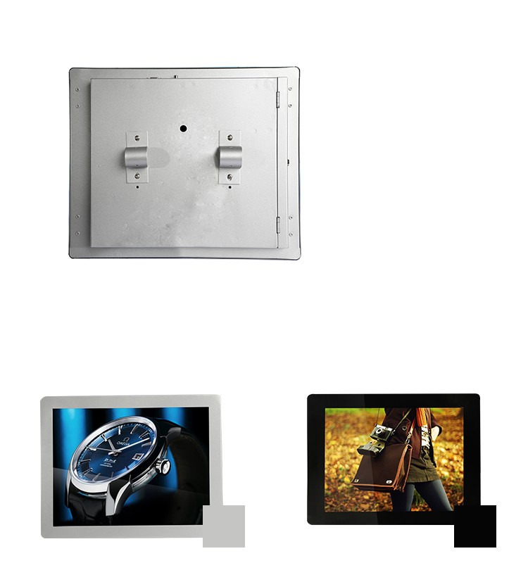 15 Inch Bus Portable LCD Digital Signage Player