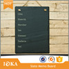 Nature Slate Memo Board with Spilt Surface