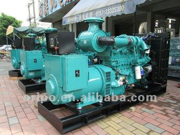 Cummins diesel 400kVA generator for power project solution