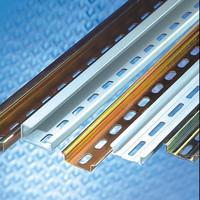 din rail 35mm x 7.5 mm zinc plated TH35-7.5 aluminum mounting rail