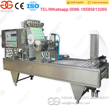 Commercial Ice Cream Cup Filling Machine Juice Cup Filler and Sealer