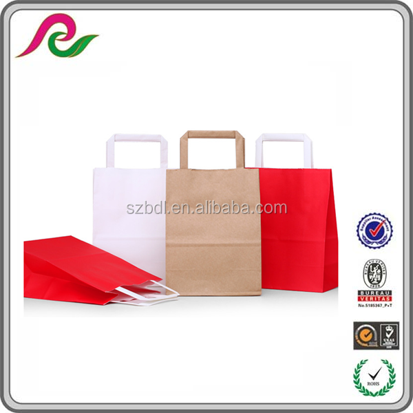 Custom Paper Shopping Industrial Use Brand Retail Paper Carrier Bag