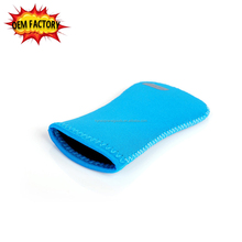 double-used waterproof neoprene mobile phone pouch mouse case
