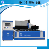 Stainless Steel 1000W fiber metal laser cutting machine With world top imported laser IPG