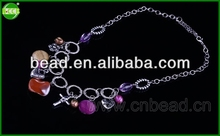 Jewelry Necklace,Crystal Necklace Jewelry handmade bead stretch necklaces