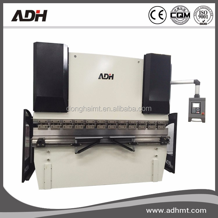 ADH Brand 2 axis cnc press brake 125Tons,cnc hydraulic press brake with Delem DA41S controller