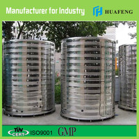 new 2016 food grade vertical Crude Palm Oil storage tank