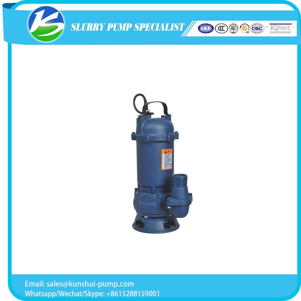 factory hot sales submersible trash water sewage pump with cheapest price
