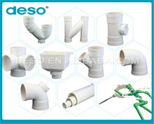 New Production low price plastic pvc pipe fittings