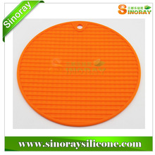 Colorful silicone foldable trivet from NingBo