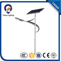 Hot selling solar powered led outdoor lights solar street light pole led solar cell with low price