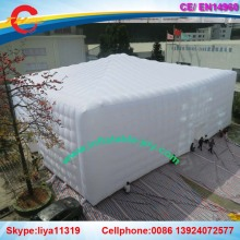 inflatable cube tent inflatable white event tent for sale