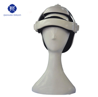 Fashion transparent color dummy hat display stands mannequins head