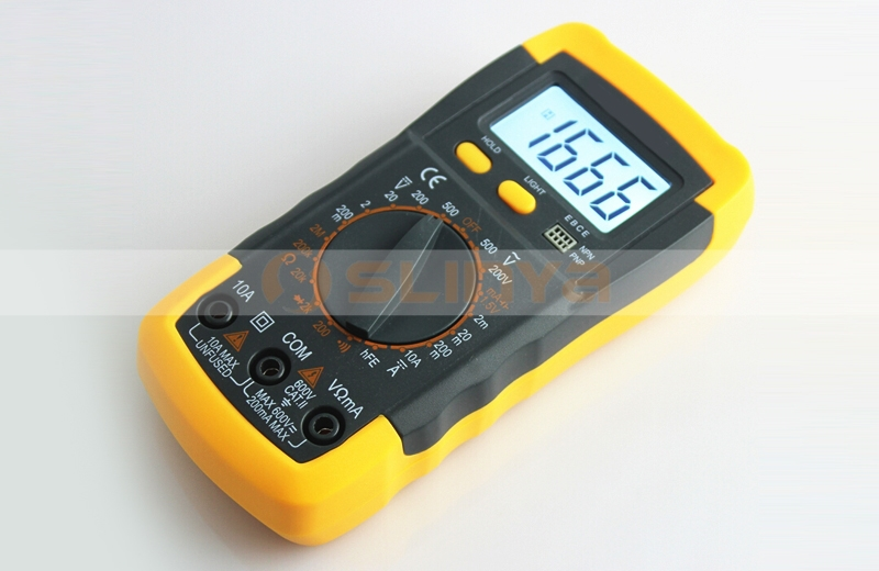 Universal Digital Volt Ohm Amp A830L Multimeter