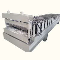 Professional 1000 type roof use automatic single layer aluminum ceiling light steel keel roll forming machine