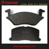 Auto Motorcar Spares For TOYOTA Brake Pad D2092