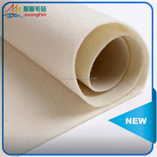 Eco friendly 3mm thick felt textiles in rolls