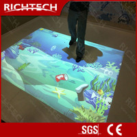 RichTech high brightness all-in-one interactive floor projection software