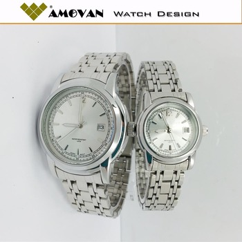 chronograph gift steel watch watches ladies for ideas valentine image her silver stainless