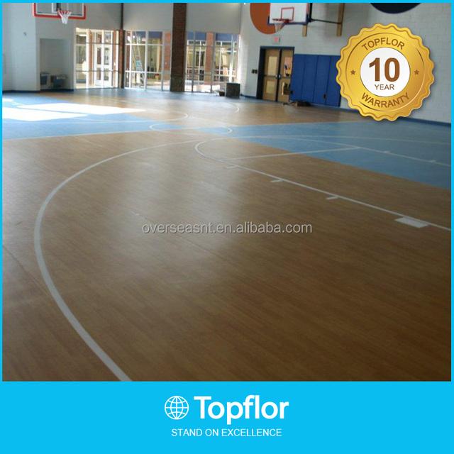Standard basketball Court Flooring Wooden Surface
