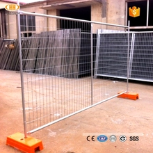 Galvanized security temporary fence panel