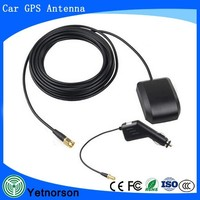 GPS Active Antenna with SMA Connector mini USB car charger with 1.2m 3.5m for car gps and dvr