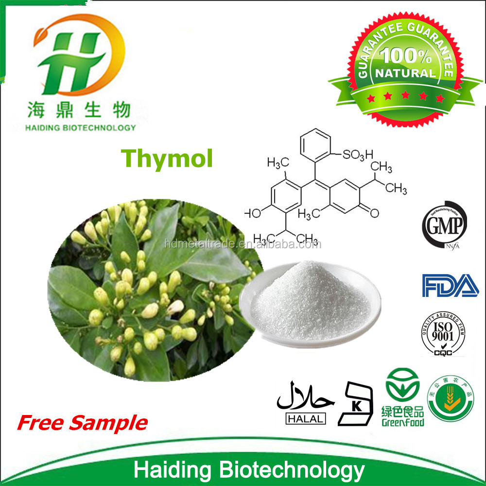 Wholesale 100% Natural Thymol Crystal