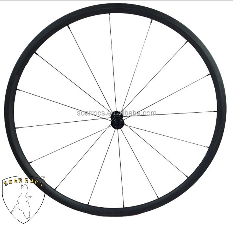 carbon 24mm clincher 20.5mm width ultra light wheel road bicycle wheelset carbon fiber road bicycle parts