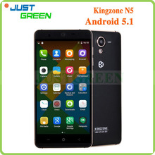 "New! Kingzone N5 Cell <strong>phone</strong> 5"" 1280*720 MTK Quad Core 4G 2GB 16GB Android 5.1 Play store GPS/BT/FM"
