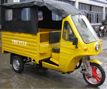 High quality Chinese 200cc Cabin Three Wheel Motorcycle With Van For passenger