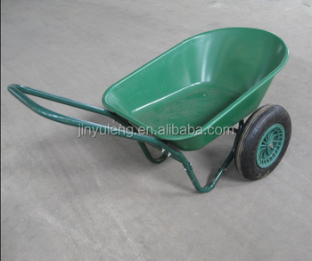 prower load large two wheels wheelbarrow , plastic tray two wheels wheelbarrow , hand cart, trolleys