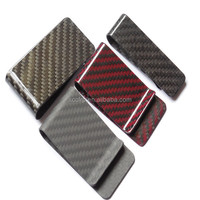 2016 Newest fashion carbon fiber wallet/money clip, glossy/matte finish, high quality, nice surface