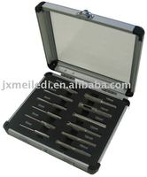 MLDGJ161 Portable tool box with acrylic surface aluminum for electroprobe