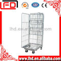 Folding Nestable Metal Roll container