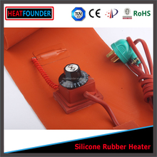 HEATFOUNDER Silicone rubber hot pads 3d printer heated bed 400mm x 400mm 24v